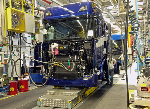 Smart Lean bij Scania
