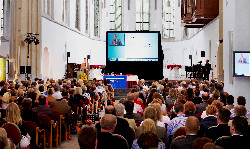 Hooggeleerde tips over verandermanagement in de St Janskerk in Utrecht